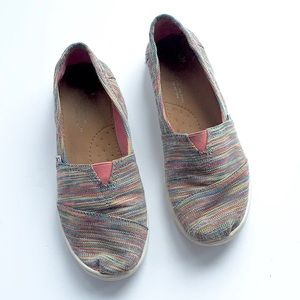 Toms | youth girls rainbow colorful 3Y